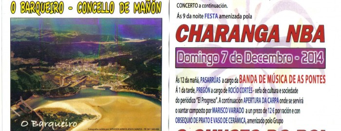 XXVI Festa do Marisco – O Barqueiro